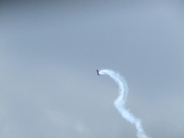 L'équipe de haute voltige de l'Armée de l'Air à l'oeuvre.