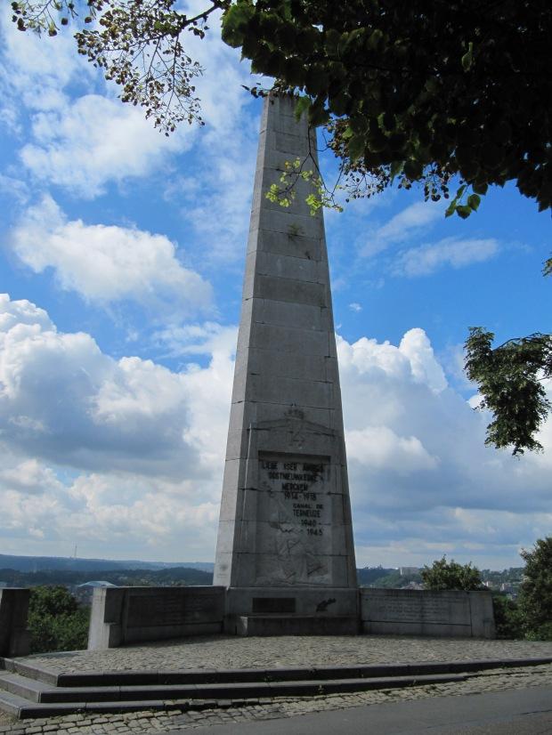 Vue globale du monument.