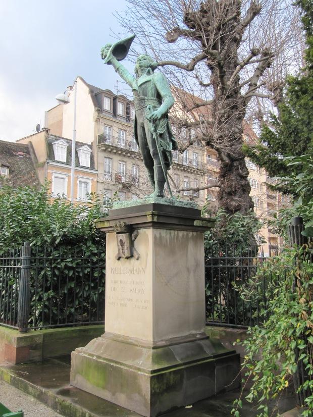 Un autre héros de la Révolution (et de l'Empire), cette fois Kellermann, duc de Valmy et maréchal de France.