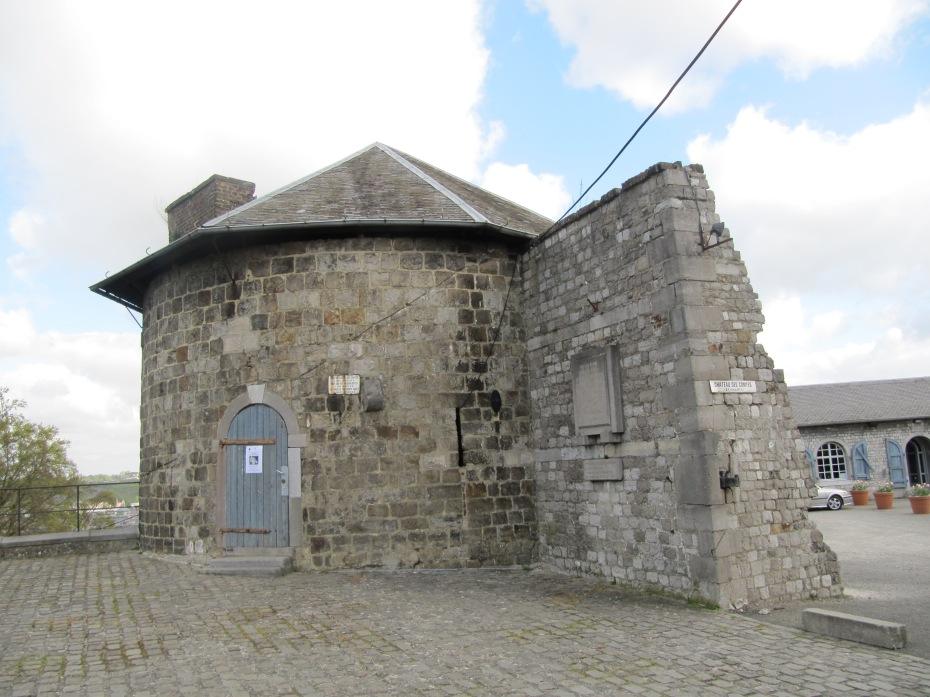 Vestige médiévale, du temps des comtes de Namur.