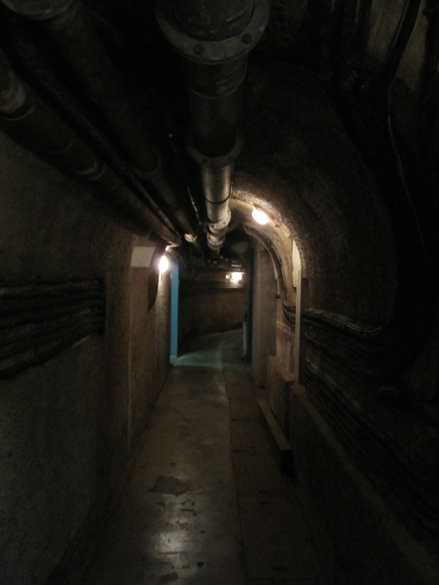 Une des galeries du fort