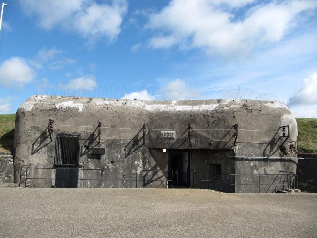 L'entrée du fort.