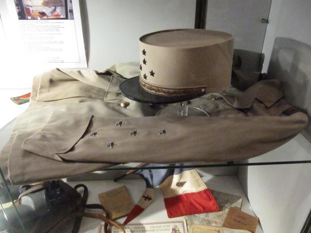 L'uniforme du général de Lattre de Tassigny.