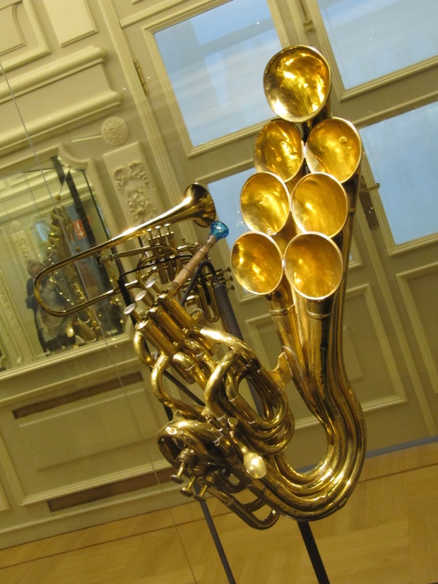 Une des nombreuses inventions de Sax..