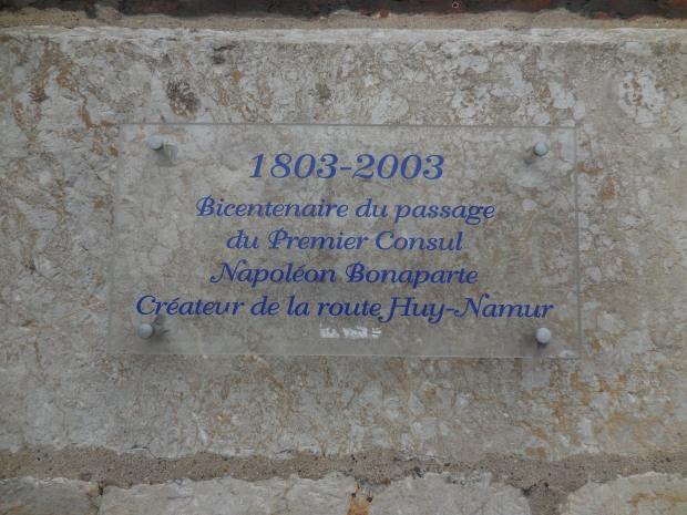 Plaque Quai de Namur.