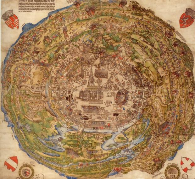 Vienne lors du siège de 1529.