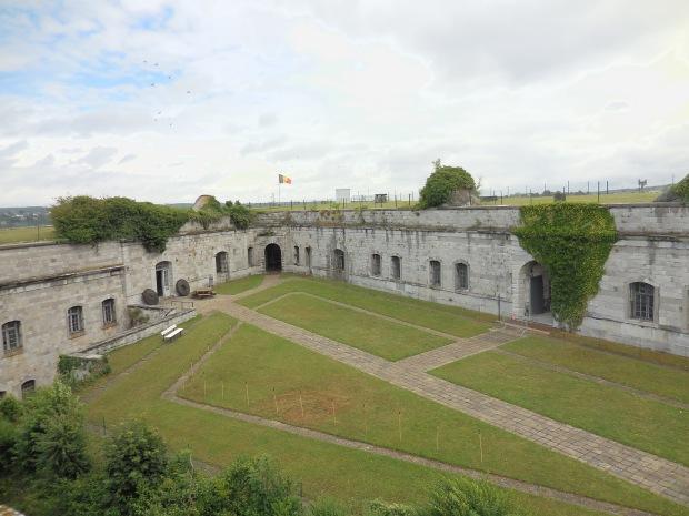 Cour intérieure du fort.