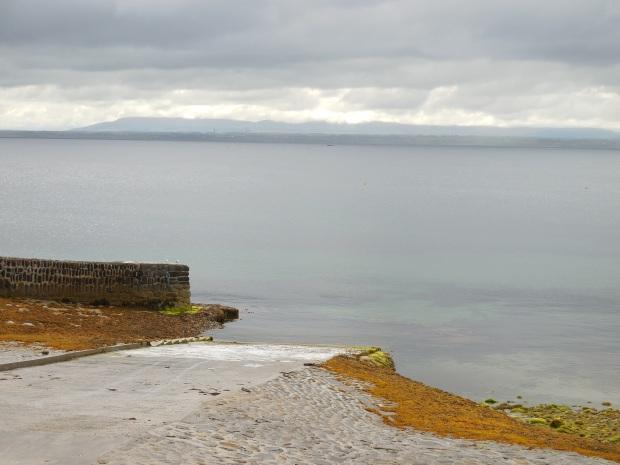 La pointe de Kilcummin où les Français ont débarqué en 1798. Photo de l'auteur.