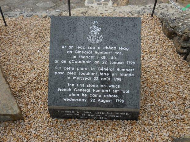 Plaque commémorative sur les lieux. Photo de l'auteur.