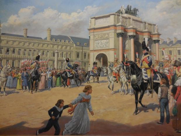 Gendarmerie d'élite au Louvre